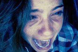 Blaire screams