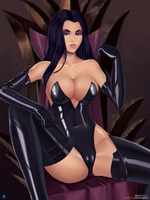 Dark queen by silent fly-d9bx9l5
