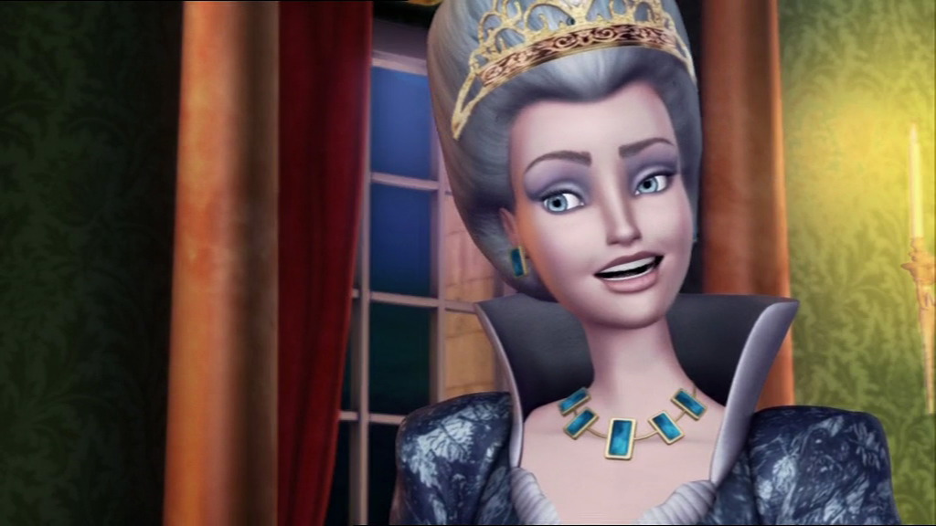 Duchess Rowena (Barbie in The 12 Dancing Princesses)
