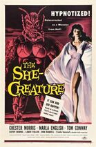 The She Creature FilmPoster