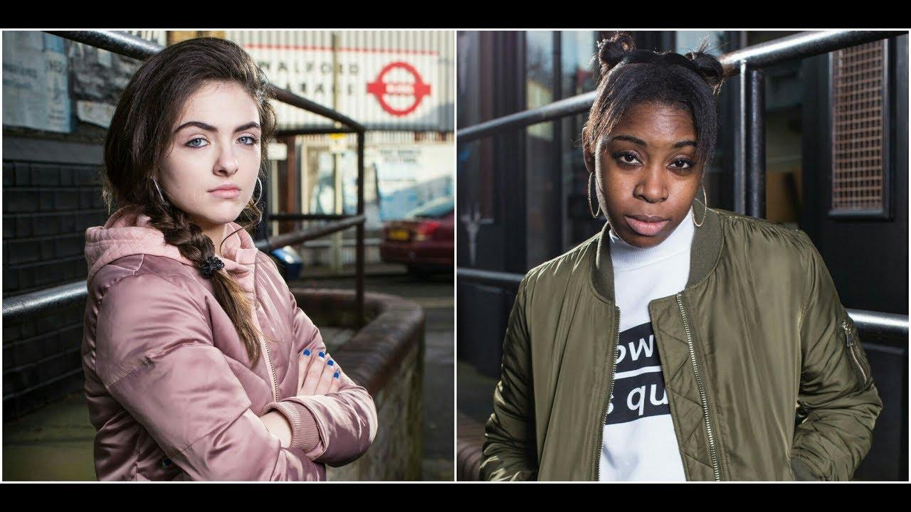 Alexandra D'Costa & Madison Drake (Eastenders)