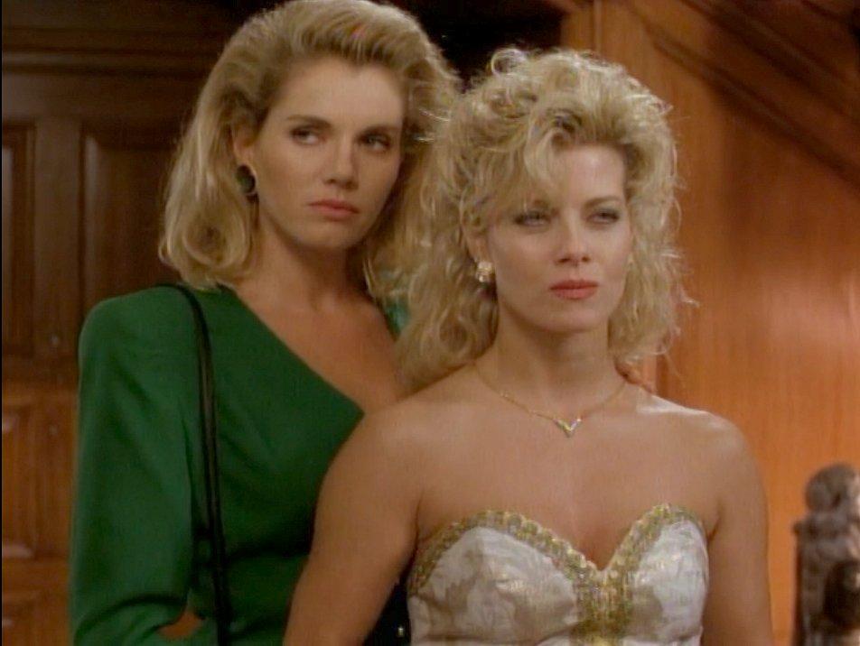 Callie Henshaw and Ulla Kurtz (Silk Stalkings)