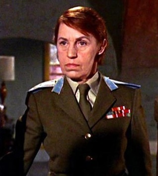 Col. Rosa Klebb (From Russia With Love)