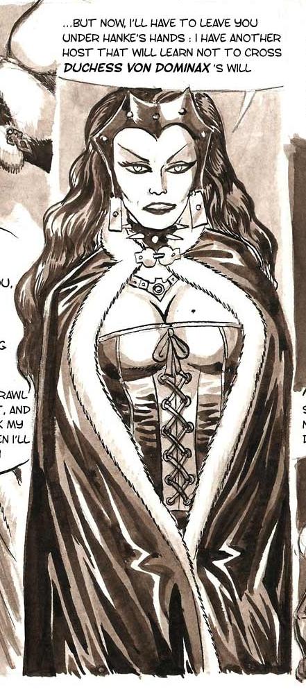 Duchess von Dominax (Captives De L'île Aux Pirates)