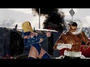 DOA6 MOD - MIZUKI VS PUNISHER - SLOW MOTION , MIXED FIGHTING