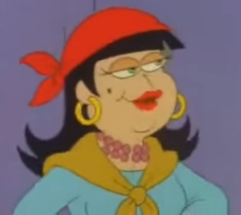 CEDJunior/Madam Ouspenskaya (Garfield and Friends)