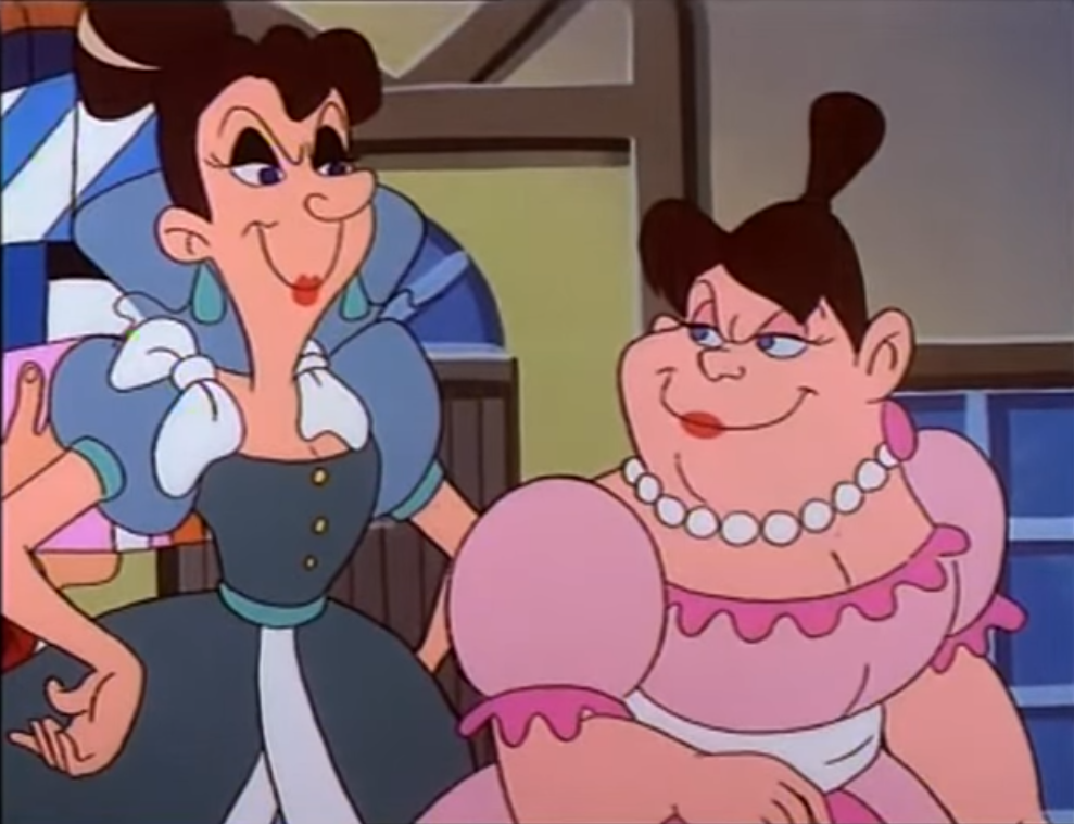 Pauline and Alicia (Beauty and the Beast)