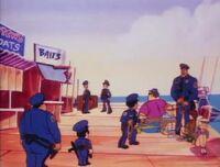 Bambi Police Academy The Animated Series The Hang Ten Gang 22