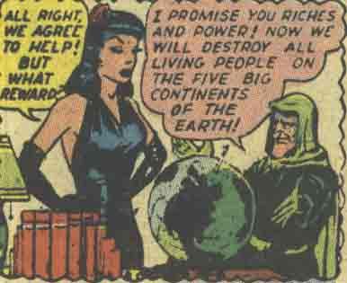 Madame Death (All Winners Comics)