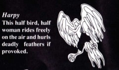 Harpy from the Turbografx16 manual.