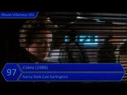 Movie Villainess 101 Rank -97 - Cobra (1986) - Nancy Stalk