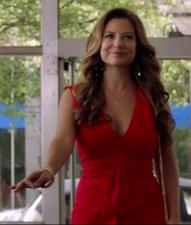 Hazard Red Dress