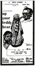 Up your Teddy Bear