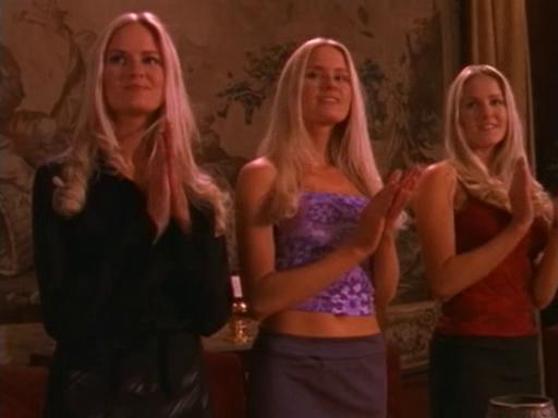 Abigail, Amanda & Amy (Relic Hunter)