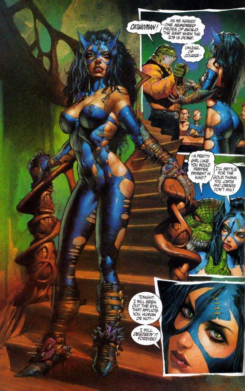 Catwoman (Batman/Demon: A Tragedy)
