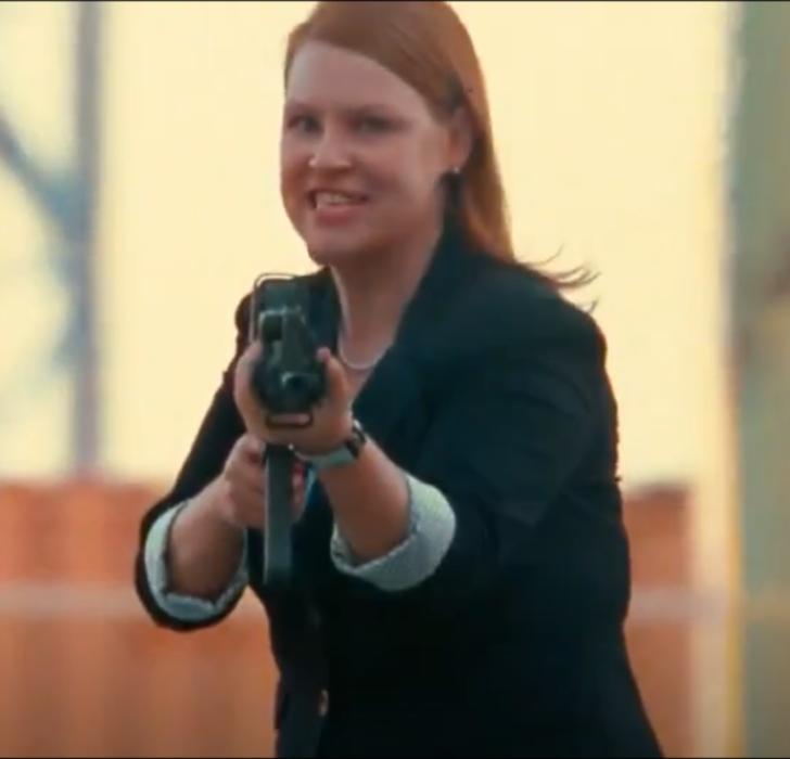 Businesswoman (Red)