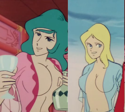 Himeoto and Meka (Lupin III)