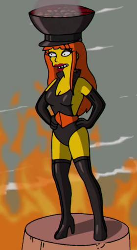 Charcoal Briquette (The Simpsons)