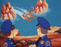 Bambi Police Academy The Animated Series The Hang Ten Gang 17