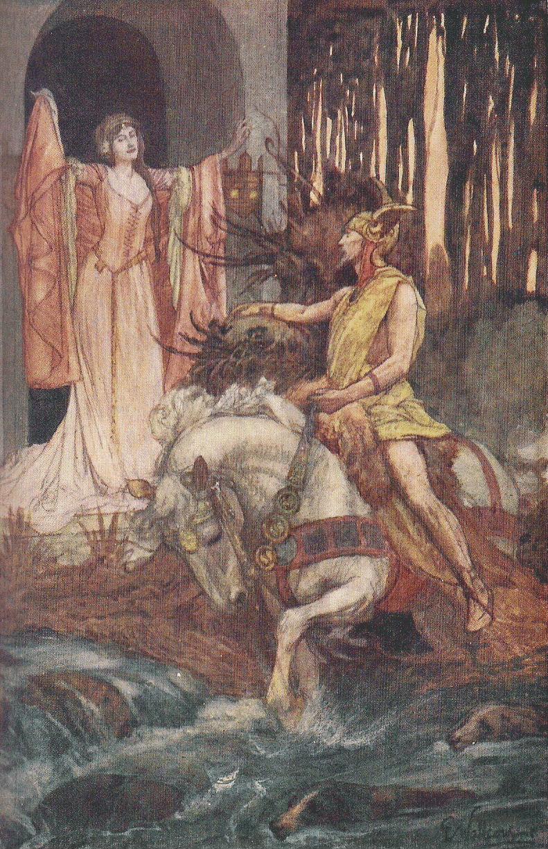 Blodeuwedd (Welsh Mythology)