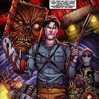 Ash Williams Earth 818793 Evil Dead Wiki Fandom