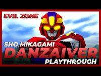 EVIL ZONE (PSX) - DANZAIVER Gameplay Playthrough