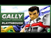 "EVIL ZONE (PSX) - GALLY ""Vanish"" GREGMAN Story Mode Gameplay Playthrough"