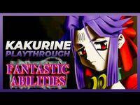 EVIL ZONE (PSX) - KAKURINE STORY MODE Gameplay Playthrough