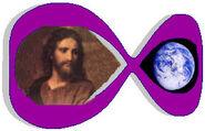 Infinitysymbolearthandjesus