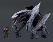 Cryosaur Size