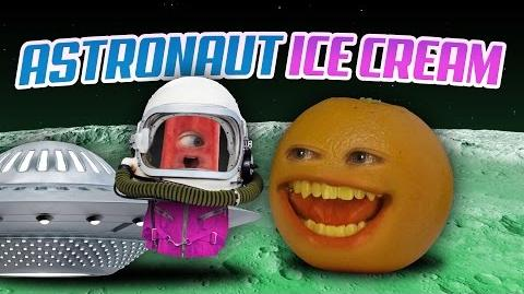 Annoying Orange - Astronaut Ice Cream!