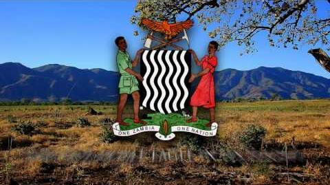 """National Anthem of Zambia - """"Stand and Sing of Zambia, Proud and Free"""""""