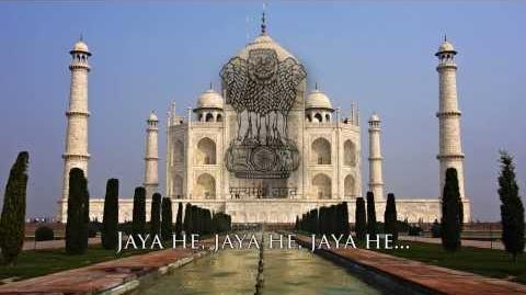 "National Anthem of India - ""Jana Gana Mana"" (জন গণ মন)"