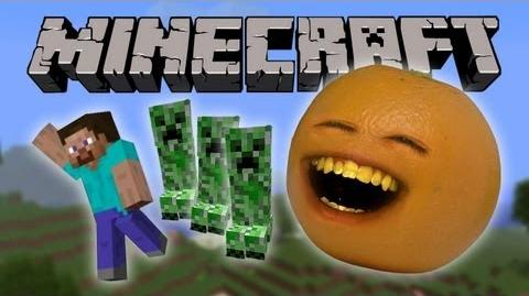 Annoying Orange Vs. Minecraft