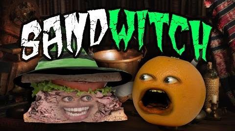 Annoying Orange - Sandwitch! Shocktober (ft. Jess Lizama)