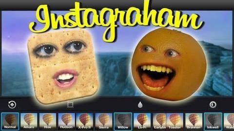 Annoying Orange - Instagraham (ft. Taryn Southern)
