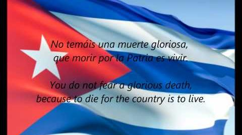 "Cuban National Anthem - ""La Bayamesa"" (ES EN)"