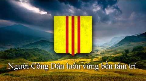 """National Anthem of South Vietnam (1955-1975) - """"Tiếng Gọi Công Dân"""""""