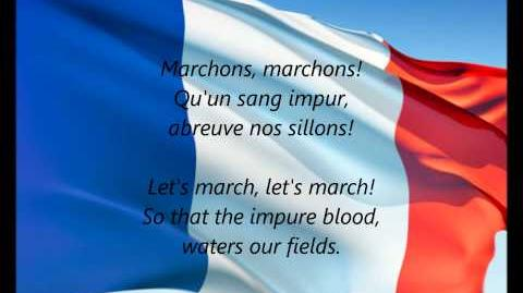 "French National Anthem - ""La Marseillaise"" (FR EN)"