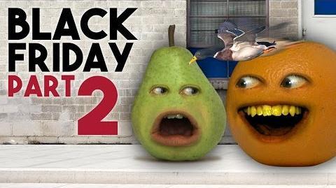 Annoying Orange - BLACK FRIDAY Day 2 (ASK ORANGE)