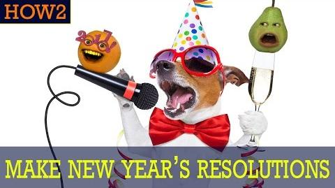 HOW2 How to Make New Year's Resolutions!