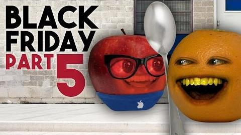 Annoying Orange - BLACK FRIDAY DAY 5 (END OF THE LINE!)