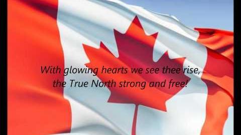 """Canadian National Anthem - """"Oh Canada"""" (FR EN)"""