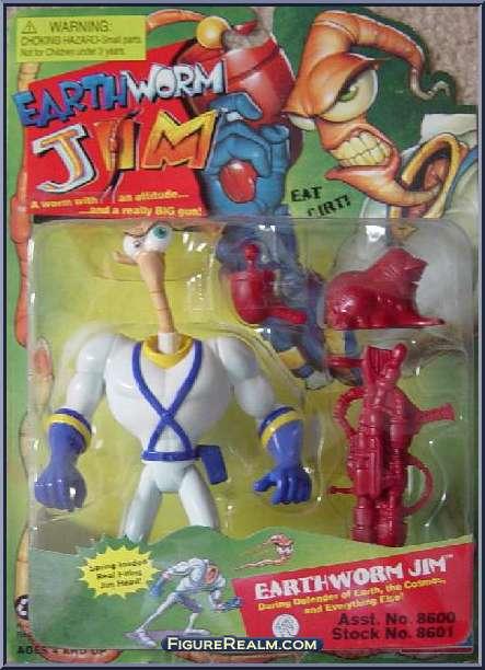 Earthworm Jim toys