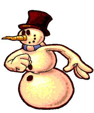 Rusty the Snowman