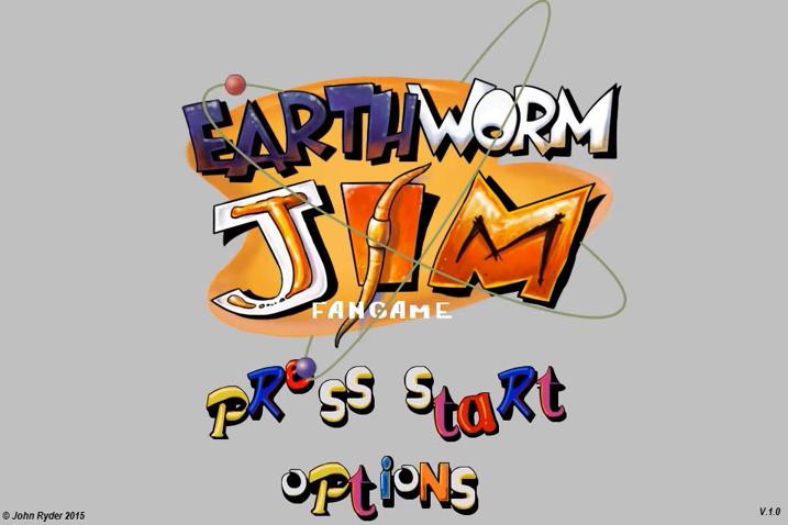 Earthworm Jim Fan Games