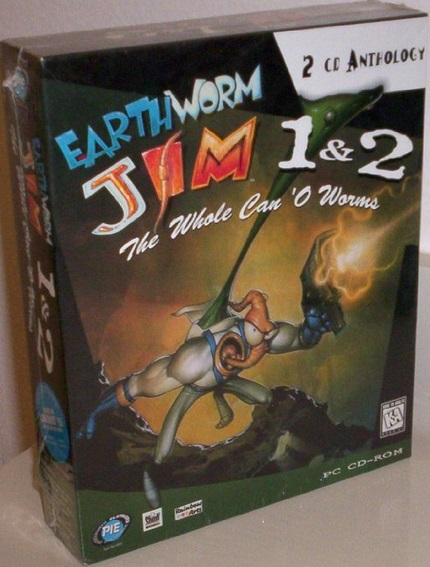Earthworm Jim 1 & 2: The Whole Can 'O Worms