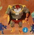 Playmates Earthworm Jim Hamstinator