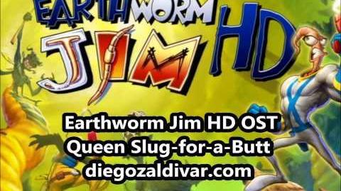 Earthworm Jim HD Music - Queen Slug-for-a-Butt