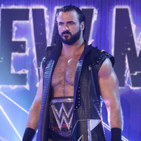 Terry Chambers as the EAW Champion in March 2021.